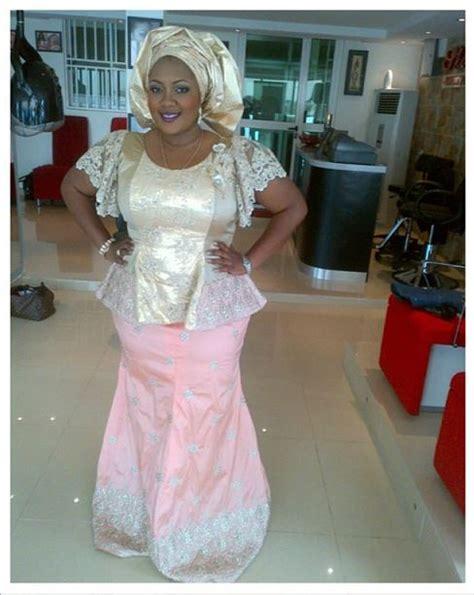 latest lace blouse in bella naija aso ebi bella latest lace iro and blouse style