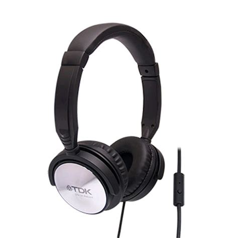 Headphone Tdk Tdk St170 Ear Headphones With Smartphone For