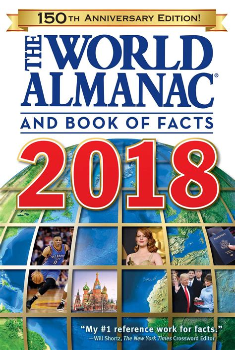 the world almanac and book of facts 2018 book by