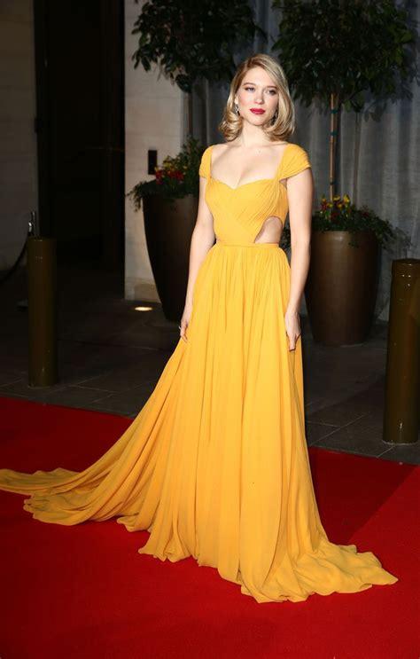 lea seydoux yellow dress 254 best lea seydoux images on pinterest french actress