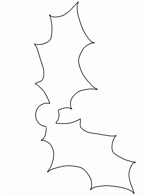 tree cutout template coloring home