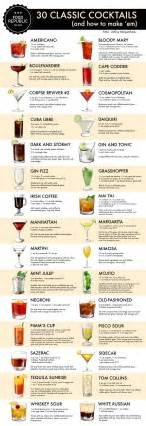 cocktail recipes how to make 30 classic cocktails an illustrated guide