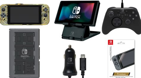 Nintendo Switch Clear Black Cyberswitch Ori Japan hori nintendo switch accessories revealed leaked images of the accessories were shown news