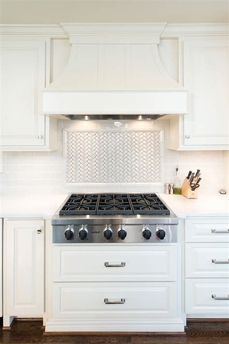 White Kitchen Cabinets With Backsplash by A Timeless Tudor Thisiskc