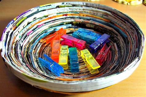 magazine craft projects preschool crafts for earth day recycled magazine