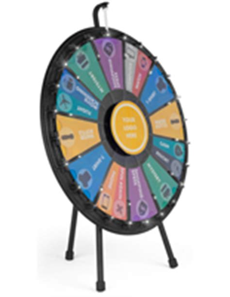 Tabletop Prize Wheels 12 Slot Prize Wheel Template