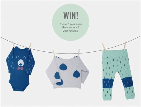 Baby Gear Sweepstakes - ebabee likes playful organic baby clothes and a giveaway