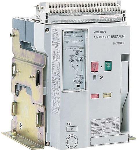 mitsubishi acb air circuit breaker ae1250 sw