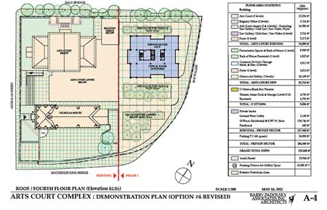 layout of a court report option for 2 daly 60 70waller site