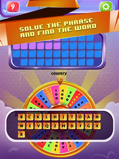wheel  word fortune game