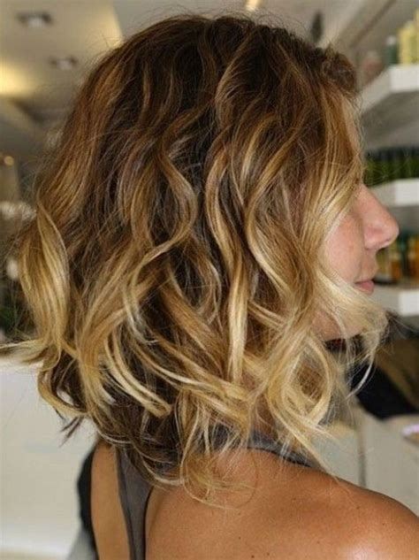 messy bob haircuts with ombre layered messy ombre hair with waves hairstyles weekly
