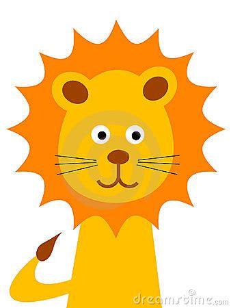 cartoon lion royalty  stock image image