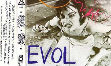 Cd Sonic Youth sonicyouth discography album evol