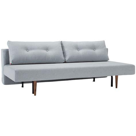 Light Sleeper Sofa Recast Sleeper Sofa In Light Blue Fabric Eurway Modern
