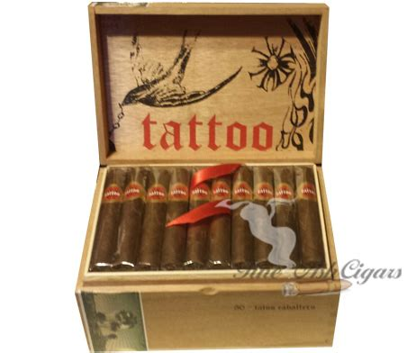 tattoo cigars tatuaje caballeros robusto ash cigars