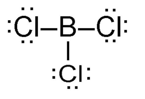 lewis dot diagram for boron lewis structure of bcl3 www pixshark images