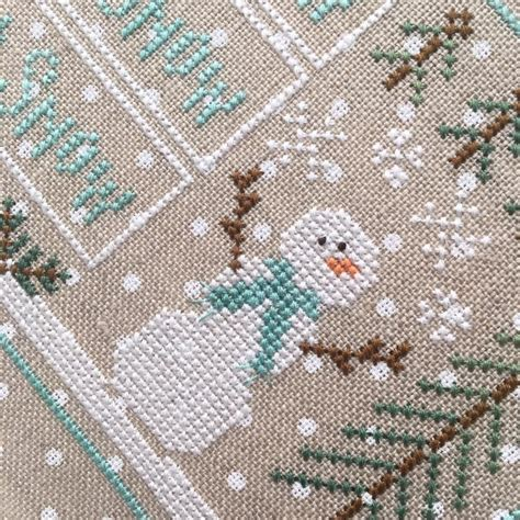 winter welcome country cottage needleworks i cross stitch pinterest cottages country let it snow cross stitch chart country cottage needleworks