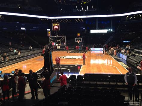 section 16 a barclays center section 16 brooklyn nets rateyourseats com