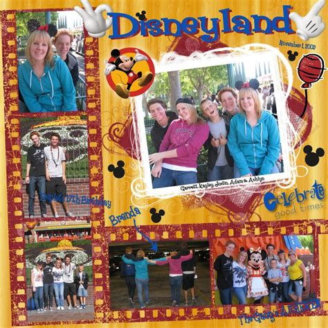 scrapbook layout disneyland ideas 13 best images about my next projects on pinterest