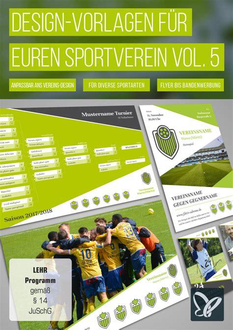 Design Vorlagen Indesign Design Vorlagen F 252 R Vereine Werbebanner Mannschaftsfoto Und Mehr Psd Tutorials De Shop