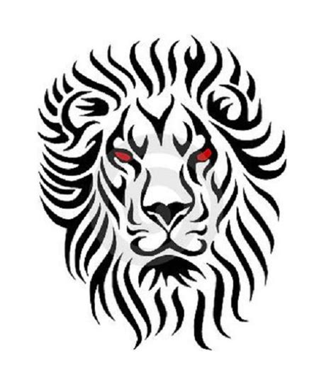 tribal lion tattoos tattoo designs http tattoocolors
