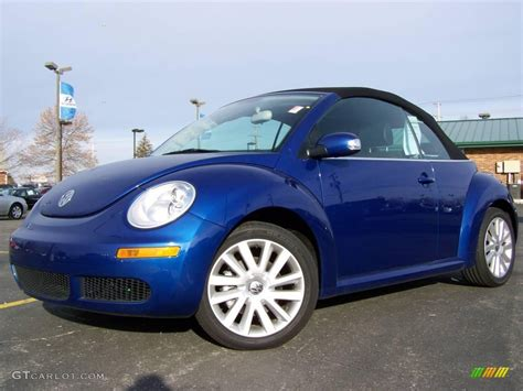 blue volkswagen convertible 2008 laser blue volkswagen new beetle se convertible