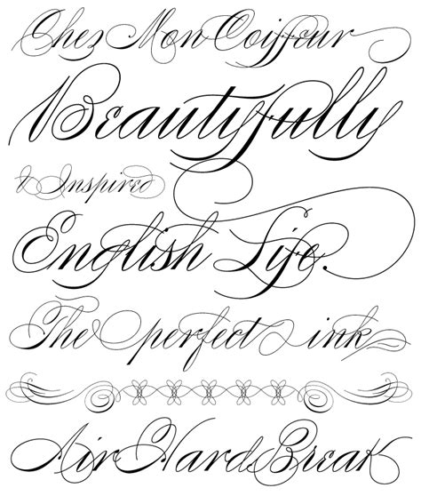 tattoo lettering fontspace i love swirly calligraphy i love swirly designs