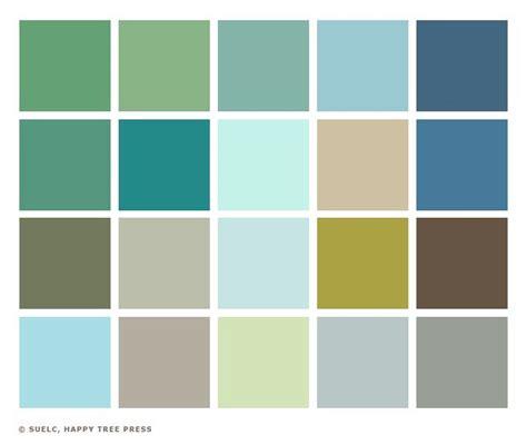 studio color palette 1950s home exteriors