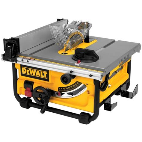 compact portable table saw dewalt dwe7480 compact table saw