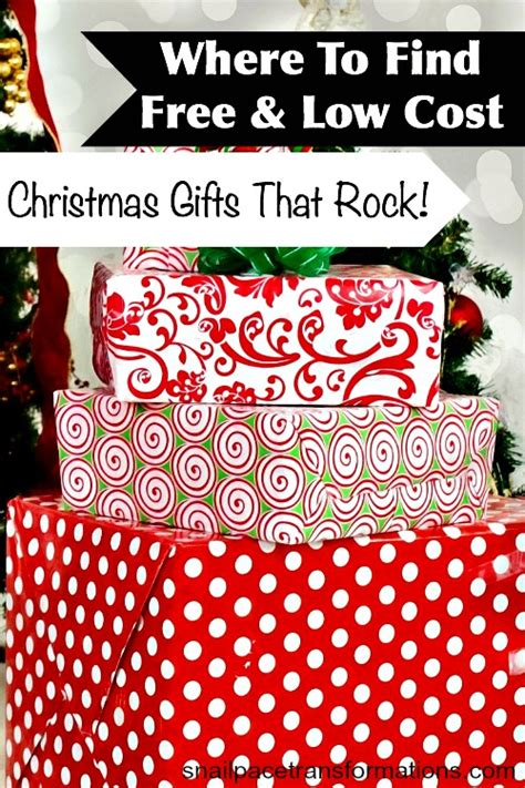 where to find free low cost christmas gifts that rock