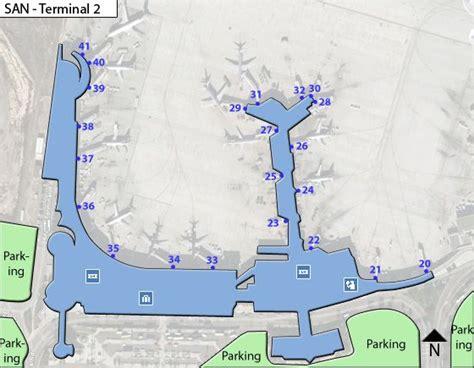 san diego airport map san san diego airport terminal maps