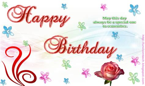 Wish Gift Card - happy birthday greeting cards
