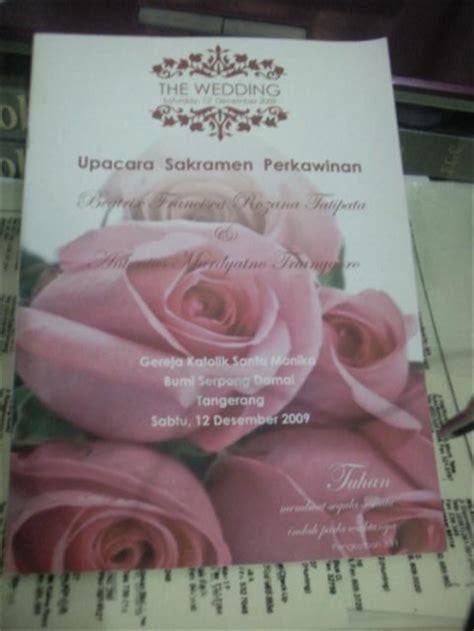 format buku misa pernikahan bikin buku misa pernikahan katolik oleh dr handry carlos