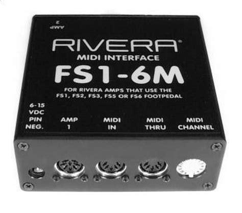 format audio midi adalah rivera fs1 6m external midi interface image 22286