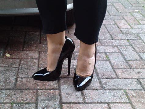 high heel tim boots high heel footwear worn regular stilettos courts