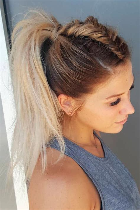 Hairstyles For Easy For School by 59 Easy Ponytail Hairstyles For School Ideas Hairstyle