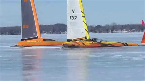 snow boat yacht club zermatt ice boats e class skeeter youtube