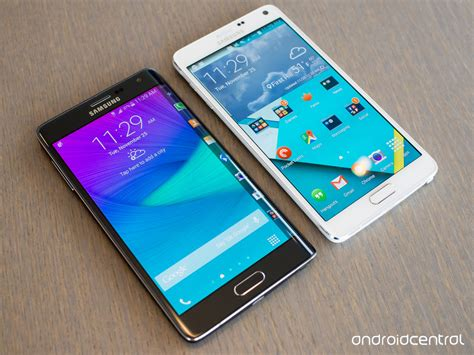 themes galaxy note edge in pictures galaxy note edge versus galaxy note 4