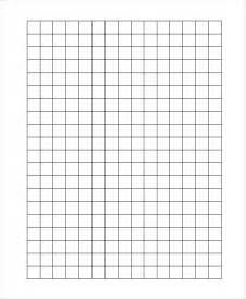 Plain Templates by Graph Paper Template 8 Free Word Pdf Documents