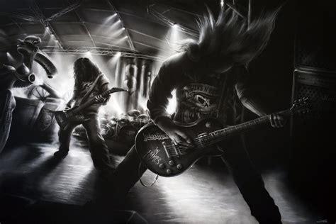 Poster Band 2 20x30cm Get Cheap Guitar Metal Wall Aliexpress