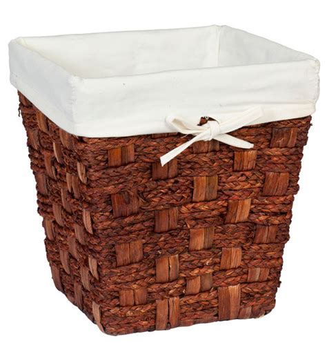 small waste baskets small wicker waste basket espresso in small trash cans