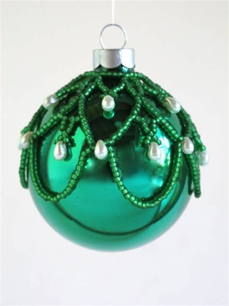 easy beaded ornaments 25 b 228 sta id 233 erna om beaded ornament covers p 229