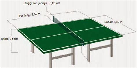 Meja Tenis Meja ukuran meja tenis meja internasional dan nasional artikel pengertian makalah