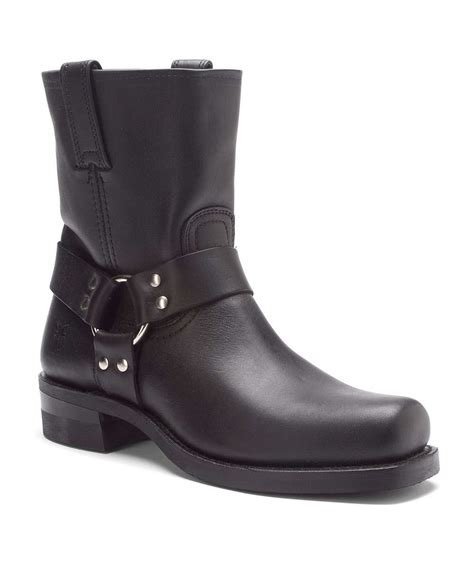 frye boots mens sale frye s harness 8r boots in black for lyst
