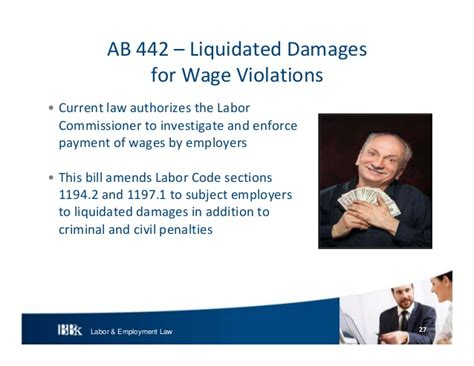 labor code section 226 7 bb k labor and employment update 2013