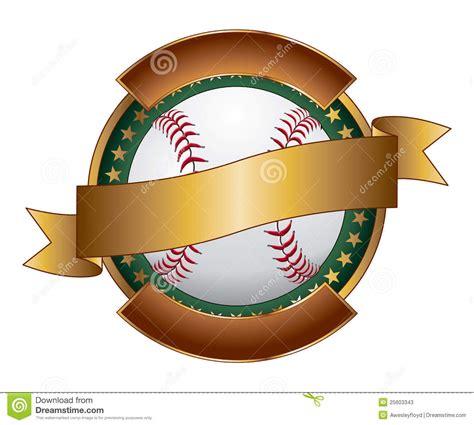 Baseball Design Template Ribbon Stock Photos Image 25603343 Baseball Designs