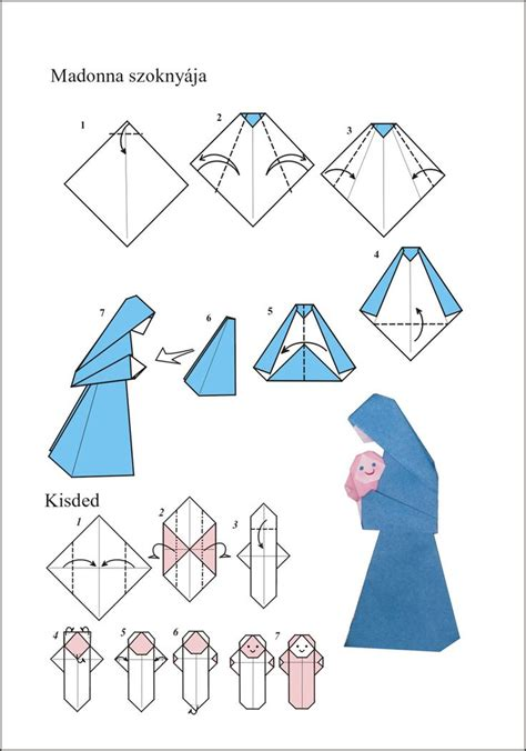 How To Make An Origami Nativity - 2408 best images about origami on