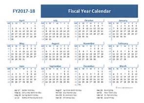 2018 Fiscal Week Calendar 2017 Fiscal Year Calendar Template Printable Free Templates