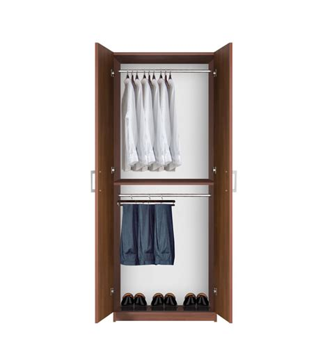 hanging wardrobe armoire bella double hanging wardrobe closet 2 hang rods
