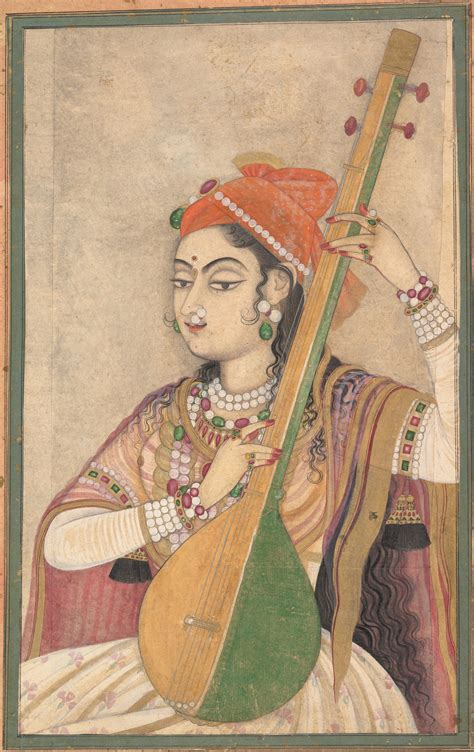 biography of indian classical artist file a lady playing the tanpura ca 1735 jpg wikimedia